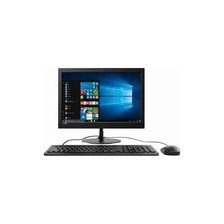 Lenovo AIO 330 F0D70019IN 19.5-inch All-in-One Desktop (J4005/4GB/1TB/Windows 10 Home/Integrated Graphics), Black