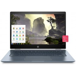 HP Chromebook x360 14-Inch Thin and Light FHD (i5/8GB/64GB eMMC SSD/Chrome OS/Backlit/Touch/Ceramic White/2.24 kg), 14-da0004TU