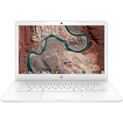 HP Chromebook Celeron Dual Core - (4 GB/64 GB EMMC Storage/Chrome OS) 14-ca003TU Laptop  (14 inch, Snow White, 1.53 kg)