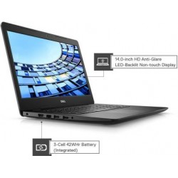 Dell Vostro 3000 Core i3 8th Gen - (4 GB/1 TB HDD/Windows 10 Home) 3480 Laptop  (14 inch, Black, 1.79 kg)