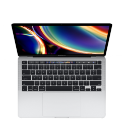 13-inch MacBook Pro with Touch Bar: 2.0GHz quad-core 10th-generation Intel Core i5 processor, 512GB - Silver- 16 GB RAM
