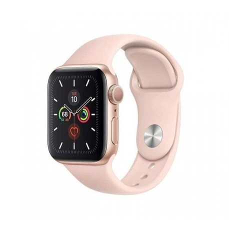 Apple Watch Series 5 40mm MWV72 with Pink Sport Band (Gold)