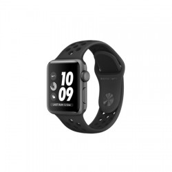 Apple Watch Nike Series 3 GPS, 38mm Space Grey Aluminium Case with Anthracite/Black Nike Sport Band