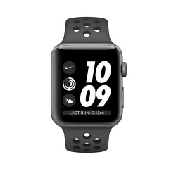 Apple Watch Nike Series 3 GPS, 42mm Space Grey Aluminium Case with Anthracite/Black Nike Sport Band