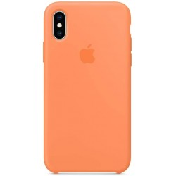 iPhone XS Silicone Case - Papaya