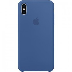 iPhone XS Max Silicone Case - Delft Blue