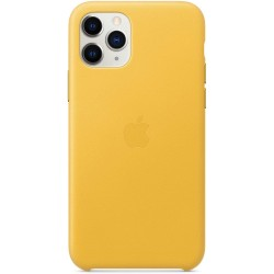iPhone 11 Pro Leather Case - Meyer Lemon