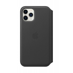 iPhone 11 Pro Leather Folio - Black