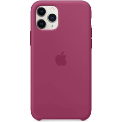 iPhone 11 Pro Silicone Case - Pomegranate