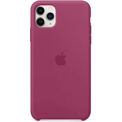 iPhone 11 Pro Max Silicone Case - Pomegranate