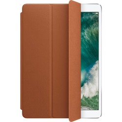 Leather Smart Cover for iPad (7th generation) and iPad Air (3rd generation) - Saddle Brown