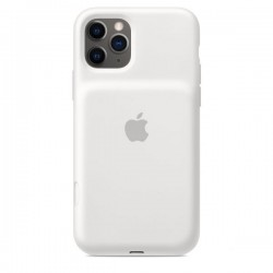 iPhone 11 Pro Smart Battery Case with Wireless Charging - White