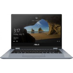 Asus VivoBook Flip 14 Core i3 10th Gen - (4 GB/512 GB SSD/Windows 10 Home) TP412FA-EC372TS 2 in 1 Laptop  (14 inch, Galaxy Blue,