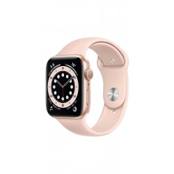 Apple M00E3HN/A Watch Series 6 GPS - 44mm Gold Aluminium Case With Pink Sand Sport Band Rs.43,900