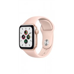 Apple MYDN2HN/A Watch SE GPS - 40mm Gold Aluminium Case With Pink Sand Sport Band