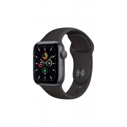 Apple MYDP2HN/A Watch SE GPS - 40mm Space Gray Aluminium Case With Black Sport Band