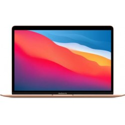 Apple 13-inch MacBook Air: Apple M1 chip with 8-core CPU and 7-core GPU, 256GB - Gold
