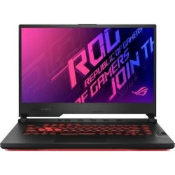 Asus Gaming Laptop ROG Strix G17 i7/ RTX2060-6GB/ 8G+8G/ 512G SSD+512G SSD)/ 17.3 FHD/ RGB WIFI6/ 66Wh/ WIN10/ Black Plastic